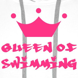 Queen of Swimming Tröjor - Premiumluvtröja herr