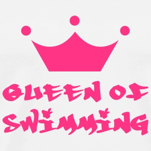 Queen of Swimming Sweaters - Mannen Premium T-shirt