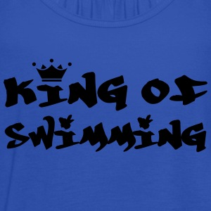King of Swimming T-Shirts - Women's Tank Top by Bella