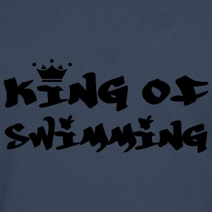 King of Swimming Skjorter - Premium langermet T-skjorte for menn