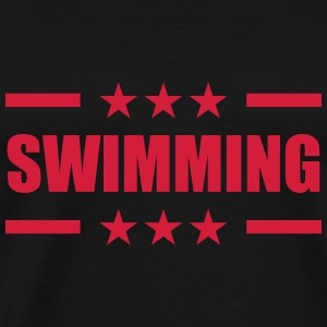 Swimming Sweaters - Mannen Premium T-shirt