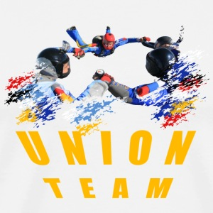 Union Team Skydivers Long sleeve shirts - Men's Premium T-Shirt