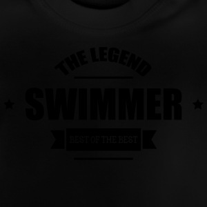 Swimmer The Legend Shirts - Baby T-Shirt