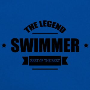 Swimmer The Legend Flasker & krus - Retro taske