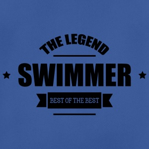 Swimmer The Legend Bottles & Mugs - Men's Breathable T-Shirt