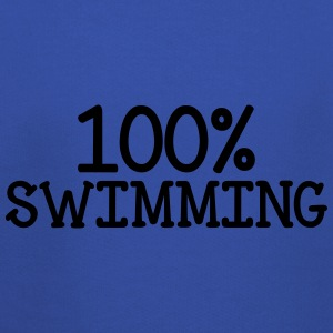 100% Swimming T-shirts - Premium-Luvtröja barn