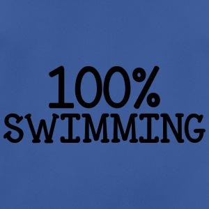 100% Swimming Flessen & bekers - mannen T-shirt ademend