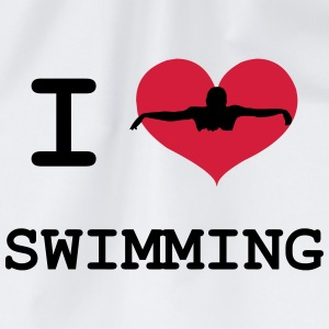 I Love Swimming T-shirts - Sportstaske