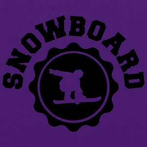 Snowboard Snowboarder Sweat-shirts - Tote Bag