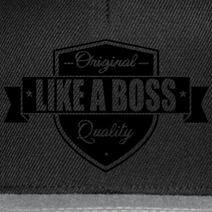 Like a Boss T-shirts - Snapback cap
