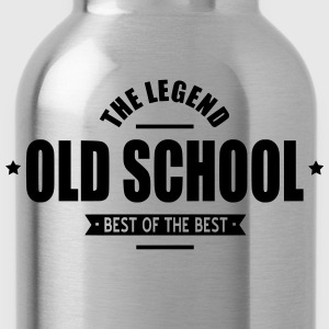Old School T-Shirts - Trinkflasche