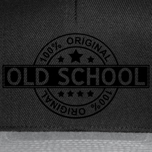 Old School - Casquette snapback