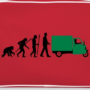 evolution_of_man_Piaggio Ape_092014_a_2c T-Shirts - Retro Tasche