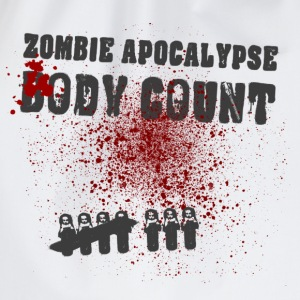 Zombie Apocalypse Body Count - Turnbeutel