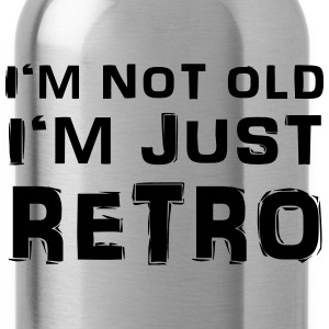 I'm not old - I'm just retro Camisetas - Cantimplora