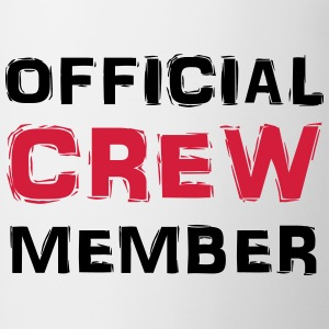 Official Crew Member T-Shirts - Tasse