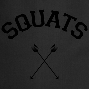Squats Arrows T-Shirts - Cooking Apron