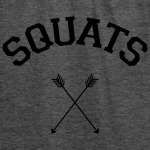 Squats Arrows T-Shirts - Women's Tank Top by Bella