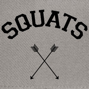 Squats Arrows T-Shirts - Snapback Cap