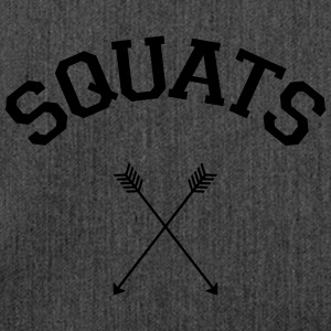 Squats Arrows T-Shirts - Shoulder Bag made from recycled material