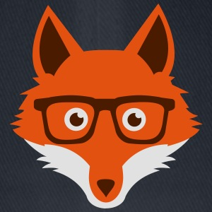 Sweet Funny hipster fox with nerd glasses Hoodies & Sweatshirts - Flexfit Baseball Cap