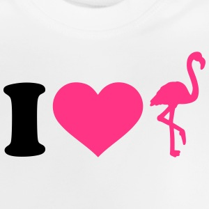 I love Flamingo T-Shirts - Baby T-Shirt