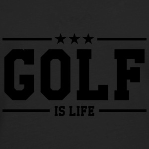 Golf is life T-shirts - Långärmad premium-T-shirt herr
