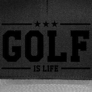 Golf is life Magliette - Snapback Cap