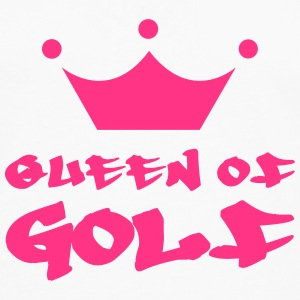 Queen of Golf Skjorter - Premium langermet T-skjorte for menn