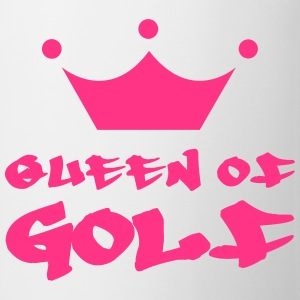 Queen of Golf Tröjor - Mugg
