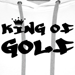 King of Golf T-shirts - Premiumluvtröja herr