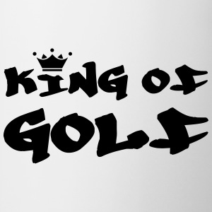 King of Golf T-shirts - Mugg