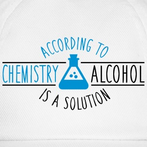 According to chemistry, Alcohol is a solution Tank Tops - Baseball Cap