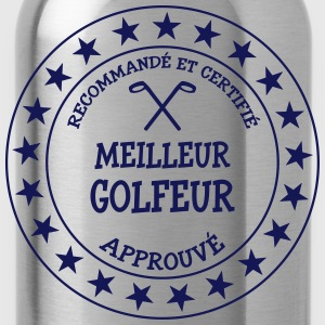 Meilleur Golfeur Shirts - Water Bottle