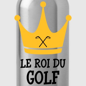 Le Roi du Golf T-Shirts - Water Bottle