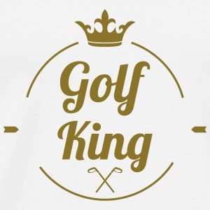 Golf King Caps & luer - Premium T-skjorte for menn