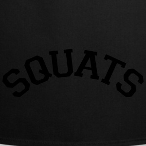 Squats Varsity Stye Tops - Cooking Apron