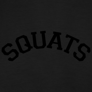 Squats Varsity Stye Tops - Men's Premium T-Shirt