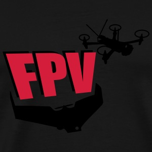 FPV First Person View Pullover & Hoodies - Männer Premium T-Shirt