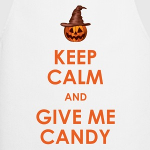 Keep Calm and Give Me Candy Halloween T-Shirts - Cooking Apron