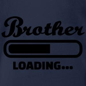Brother T-Shirts - Baby Bio-Kurzarm-Body