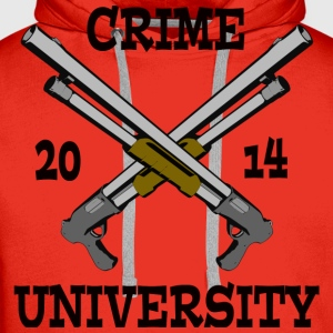Crime University 2014 T-Shirts - Men's Premium Hoodie