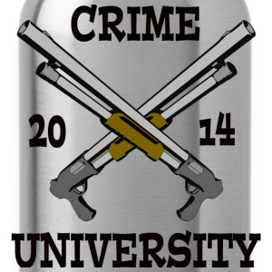 Crime University 2014 T-Shirts - Water Bottle