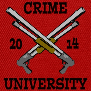 Crime University 2014 T-Shirts - Snapback Cap