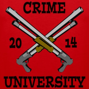 Crime University 2014 T-Shirts - Men's Premium Tank Top