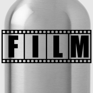 Photo film strip logo T-Shirts - Water Bottle