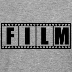 Photo film strip logo T-Shirts - Men's Premium Longsleeve Shirt