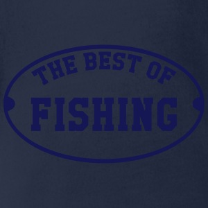 The Best of Fishing Shirts - Organic Short-sleeved Baby Bodysuit