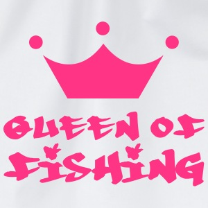 Queen of Fishing T-shirts - Gymnastikpåse