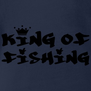 King of Fishing Skjorter - Økologisk kortermet baby-body